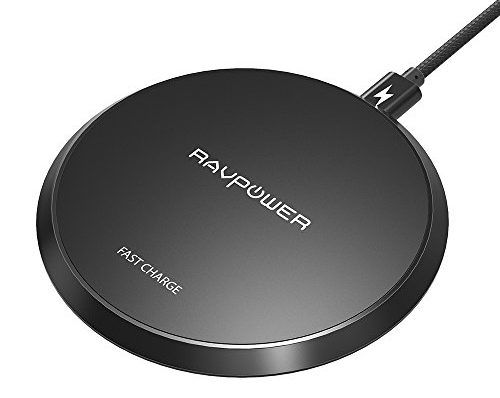 wireless charger ravpower 10w qi kabelloses ladeger t. Black Bedroom Furniture Sets. Home Design Ideas