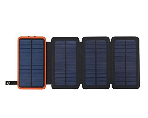solar powerbank 10000mah faltbar outdoor solar panel. Black Bedroom Furniture Sets. Home Design Ideas